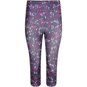 Dare 2b Influential 3/4 Tights Women active pink leopard print